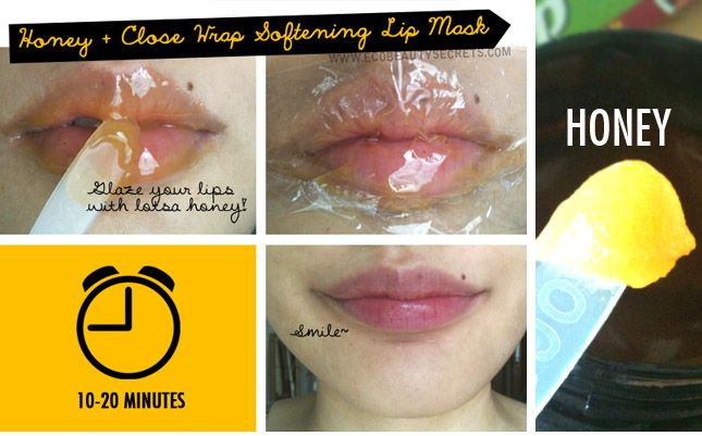 Best ideas about DIY Lip Mask . Save or Pin DIY honey lip mask for luscious kissable lips Now.