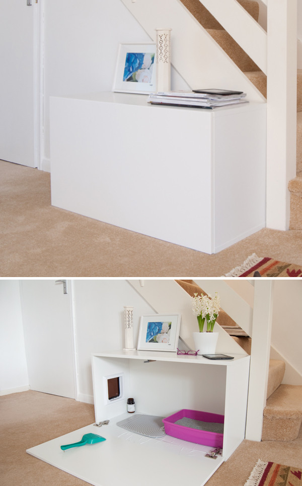 Best ideas about DIY Litter Box . Save or Pin 8 Creative Ways to Hide Your Cat s Litter Box Now.
