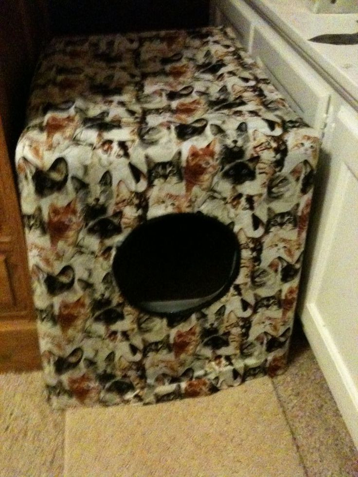 Best ideas about DIY Litter Box Cover . Save or Pin DIY Litter Box cover Things to Make Now.