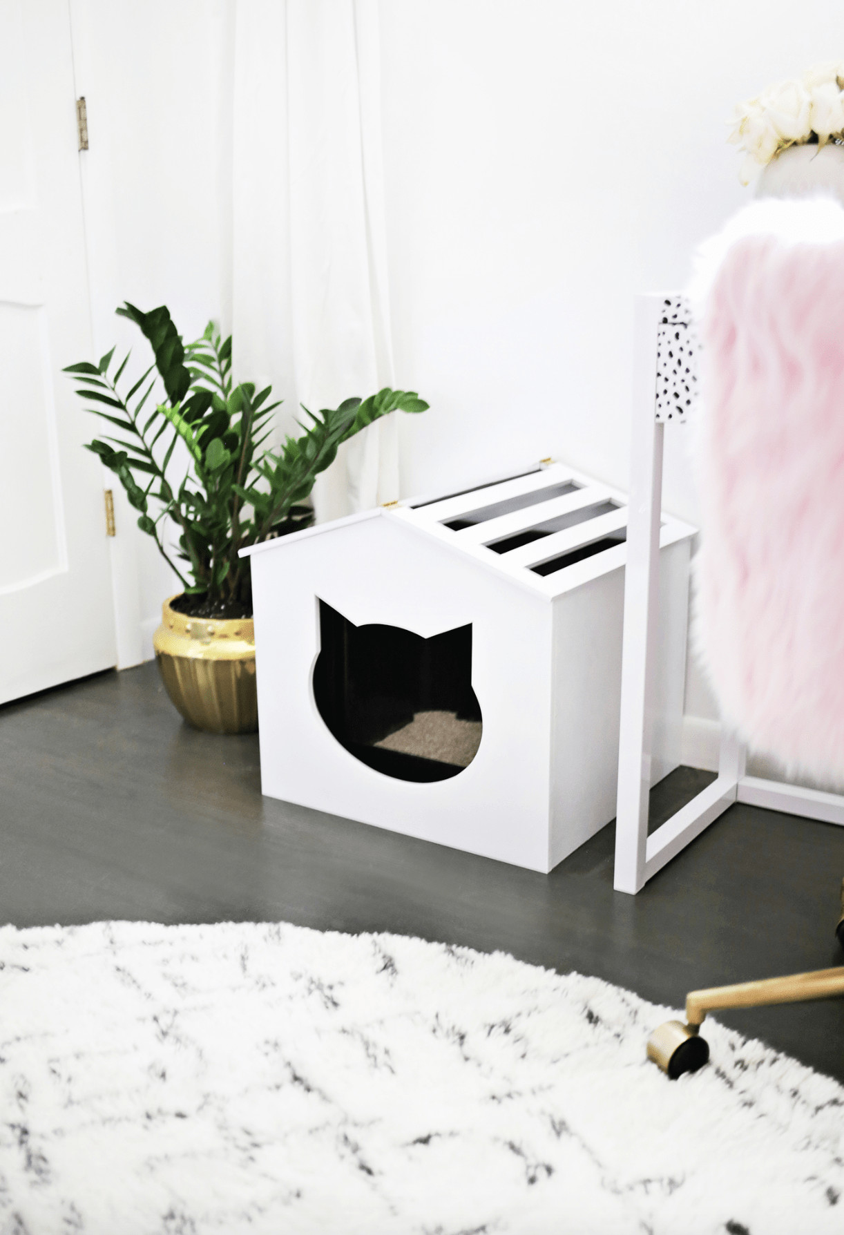 Best ideas about DIY Litter Box Cover . Save or Pin Litter Box Cover DIY A Beautiful Mess Now.