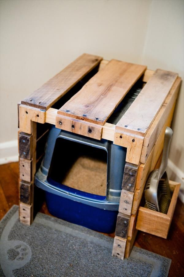 Best ideas about DIY Litter Box Cover . Save or Pin 7 purrfect DIY solutions to hide the litter box Now.