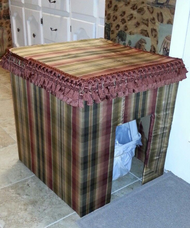 Best ideas about DIY Litter Box Cover . Save or Pin DIY Litter Box Cover Supplies ·Cardboard Box the Now.