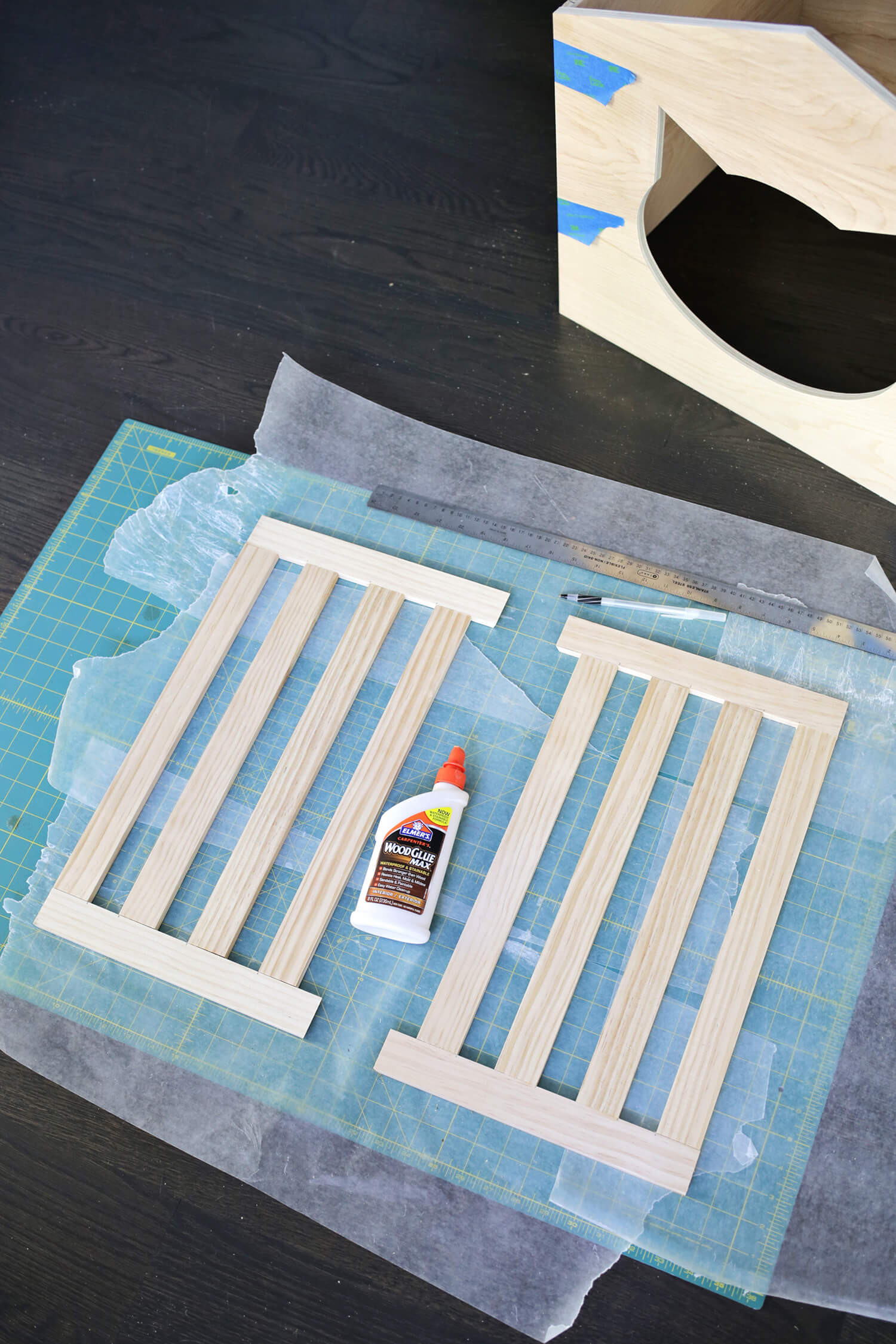 Best ideas about DIY Litter Box Cover . Save or Pin Litter Box Cover DIY – A Beautiful Mess Now.