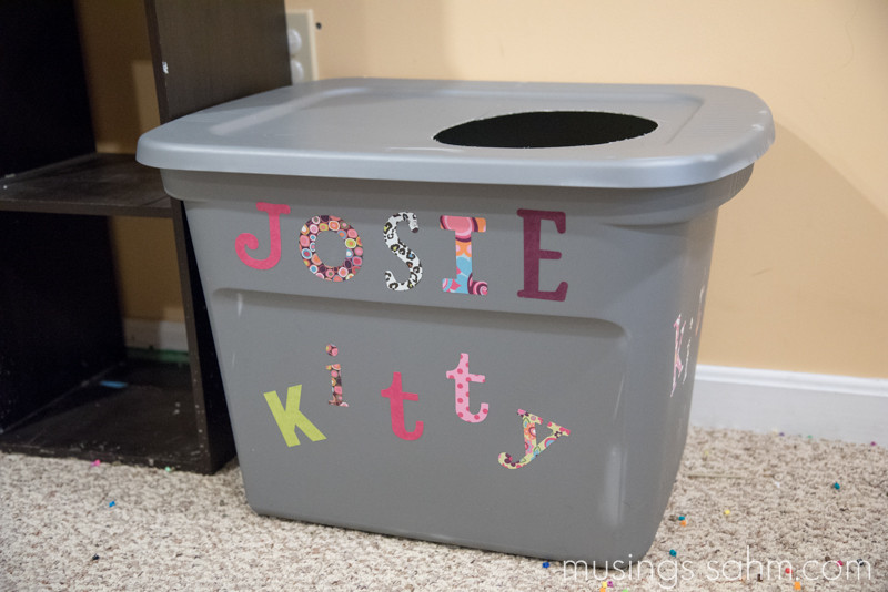 Best ideas about DIY Litter Box . Save or Pin The Original DIY Mess Free Cat Litter Box Living Well Mom Now.