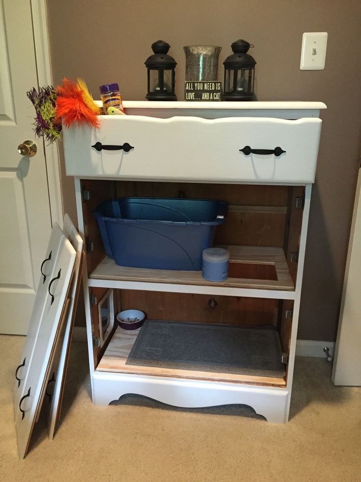 Best ideas about DIY Litter Box Enclosure . Save or Pin Best 25 Hidden litter boxes ideas on Pinterest Now.