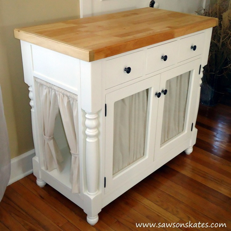Best ideas about DIY Litter Box Enclosure . Save or Pin DIY Kitty Litter Cabinet Hides UGLY Litter Box Now.