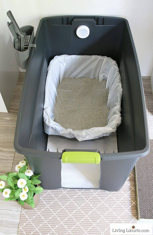 Best ideas about DIY Litter Box . Save or Pin DIY Cat Litter Box Holder Now.