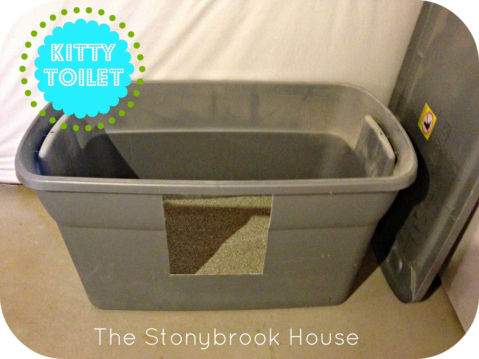 Best ideas about DIY Litter Box . Save or Pin Kitty Toilets D DIY Litter Box The Stonybrook House Now.