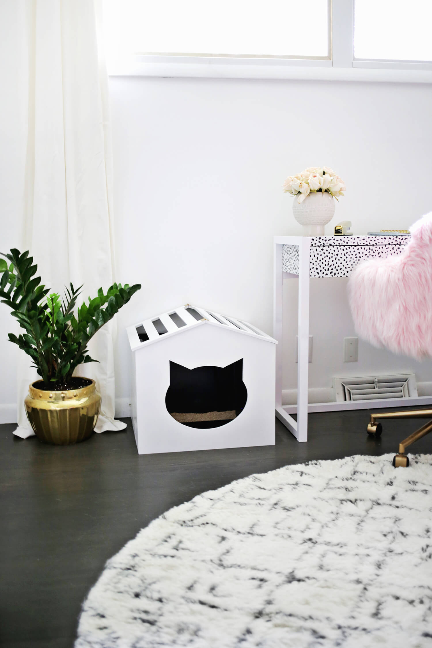 Best ideas about DIY Litter Box . Save or Pin Litter Box Cover DIY – A Beautiful Mess Now.