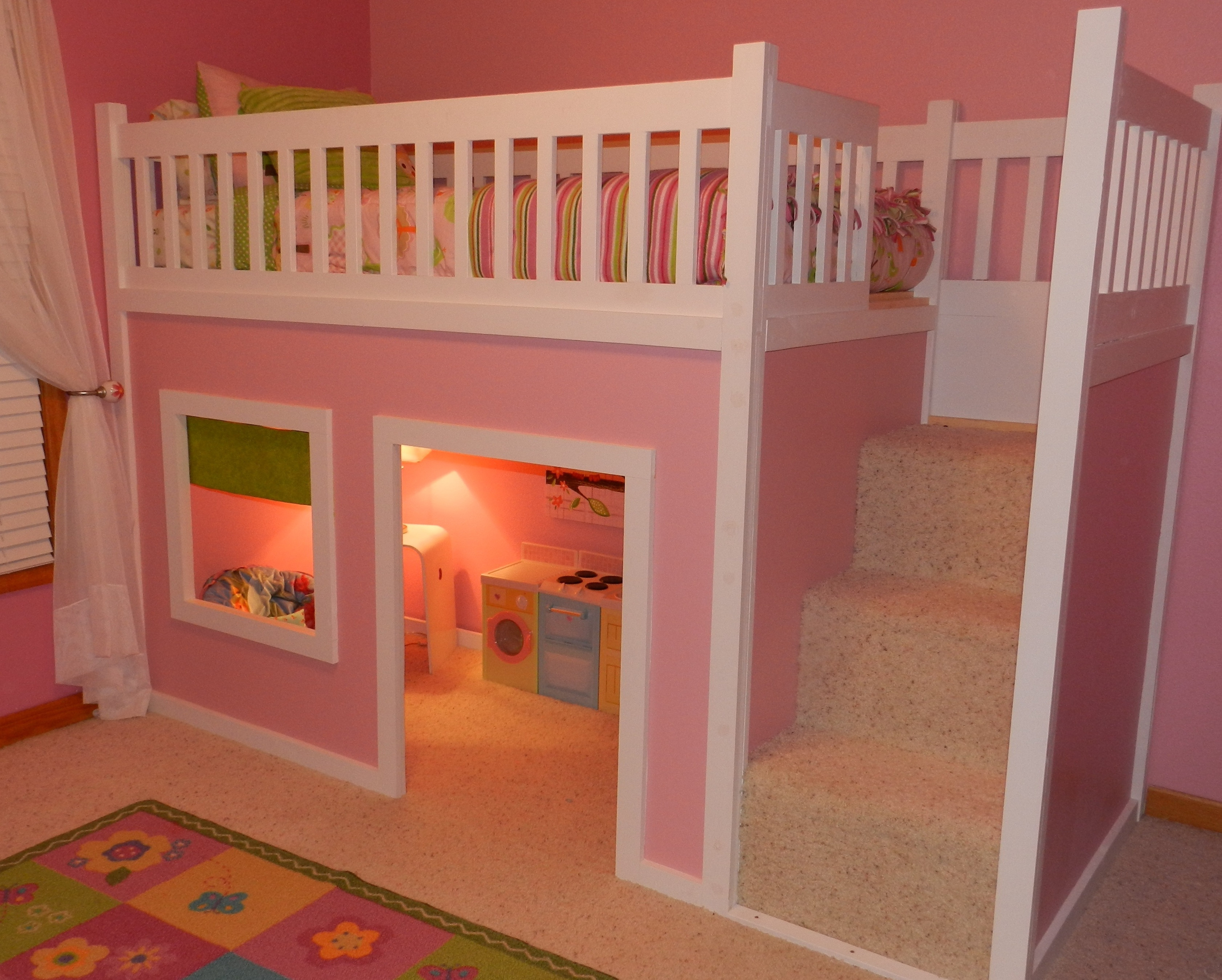 Best ideas about DIY Loft Bed For Kids . Save or Pin Kids Loft Bed Plans Bunk Beds – Distinctive And Stylish Now.
