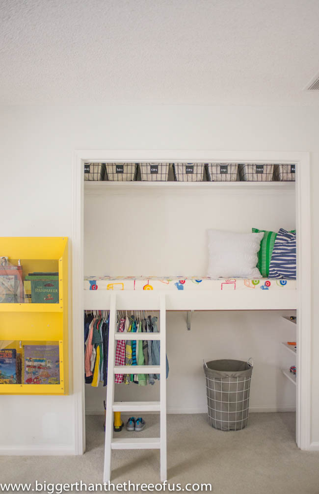 Best ideas about DIY Loft Bed For Kids . Save or Pin Remodelaholic Now.