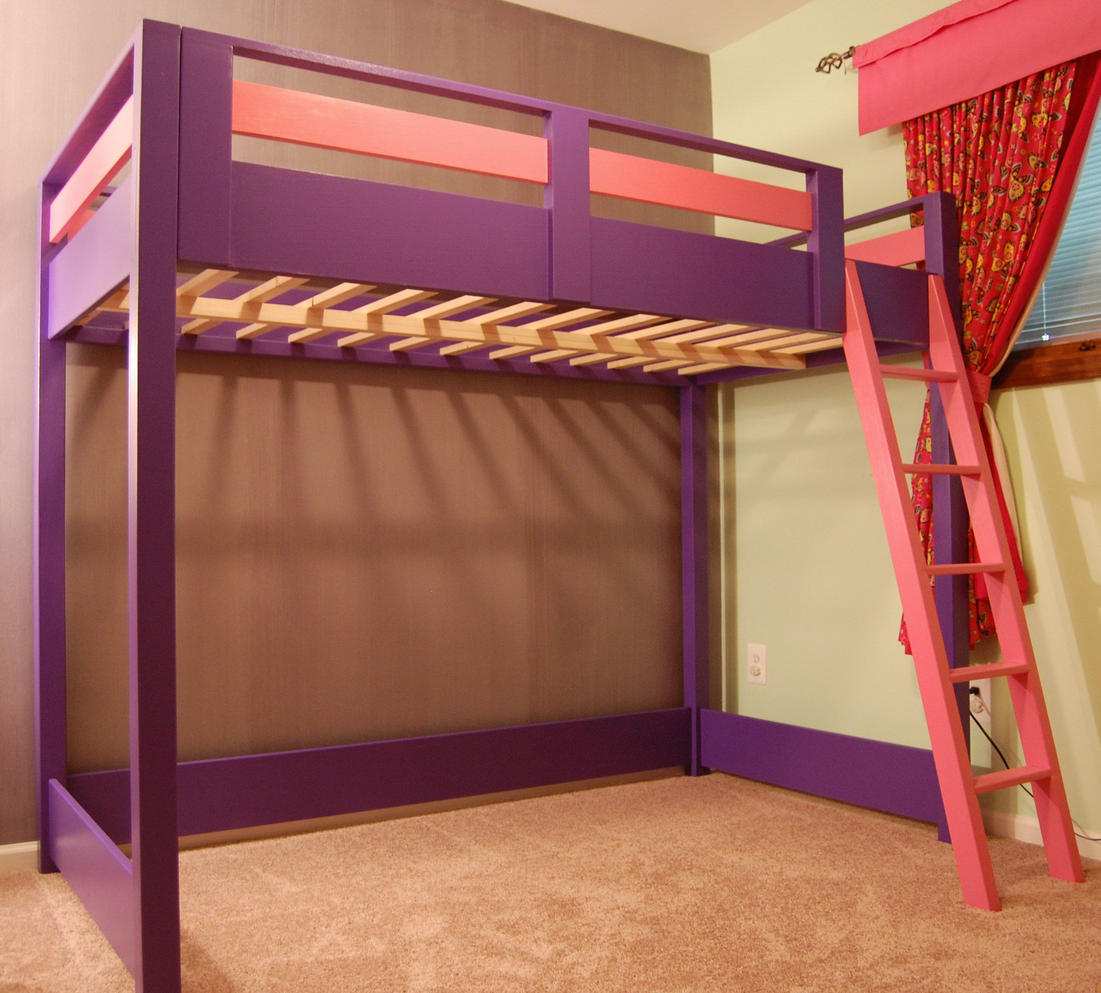 Best ideas about DIY Loft Bed For Kids . Save or Pin DIY Loft Bed A loft bed is a great space saver for a kid Now.