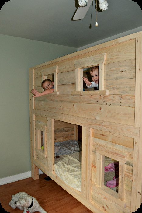 Best ideas about DIY Loft Bed For Kids . Save or Pin Introducing DIY Bunk Beds Now.