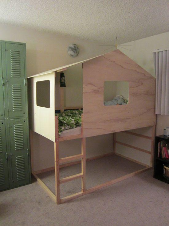 Best ideas about DIY Loft Bed For Kids . Save or Pin Loft Bed IKEA Hack IKEA Hacks Pinterest Now.