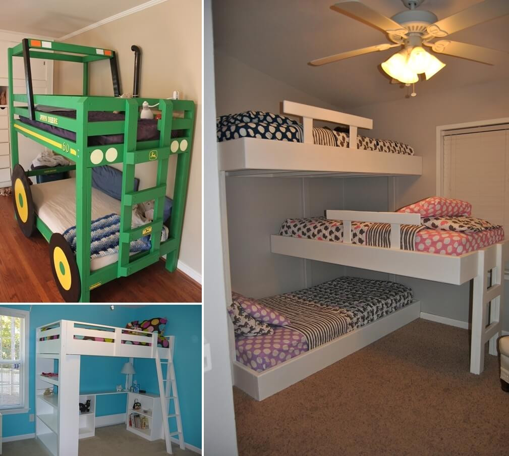 Best ideas about DIY Loft Bed For Kids . Save or Pin 10 Cool DIY Bunk Bed Designs for Kids Now.