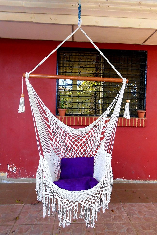 Best ideas about DIY Macrame Hanging Chair . Save or Pin 24 Amazing Macramé Hammock Patterns Now.