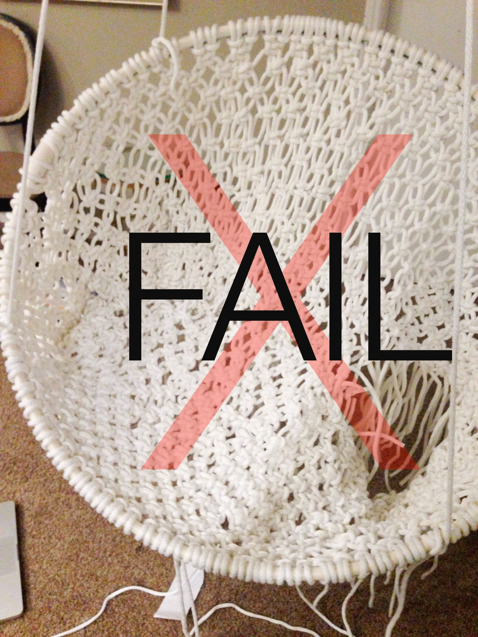Best ideas about DIY Macrame Hanging Chair . Save or Pin DIY Hanging Macramé Chair Now.