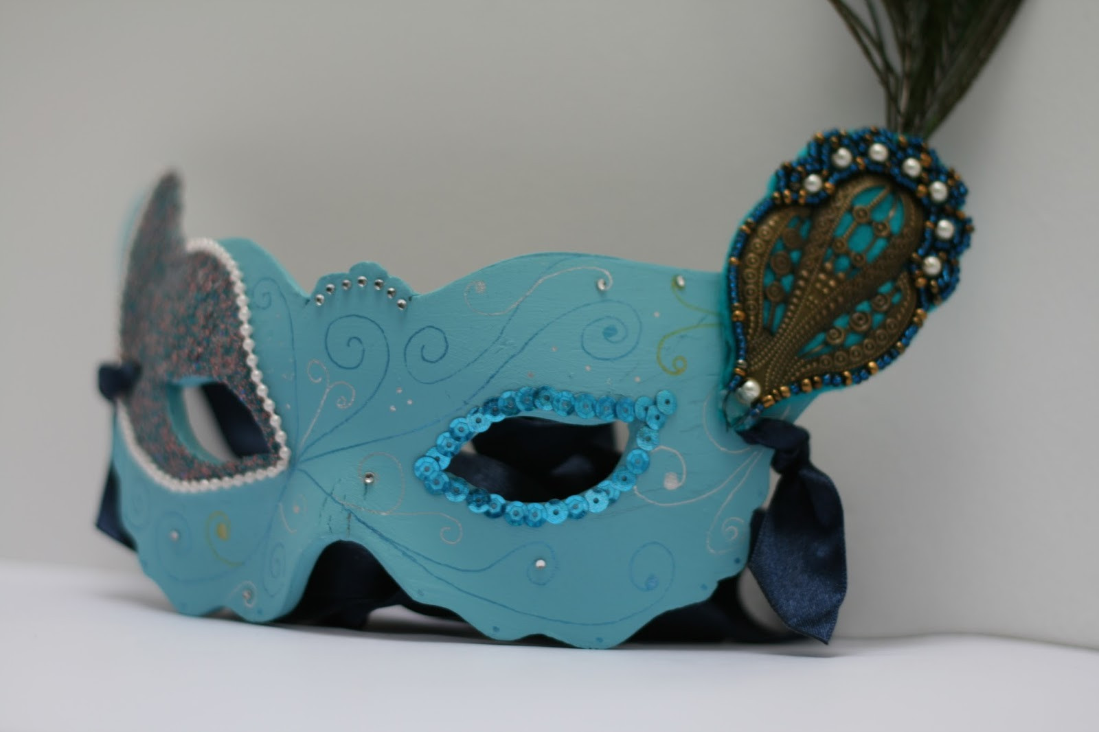 Best ideas about DIY Masquerade Mask . Save or Pin Masquerade Mask DIY Oh Gosh Now.