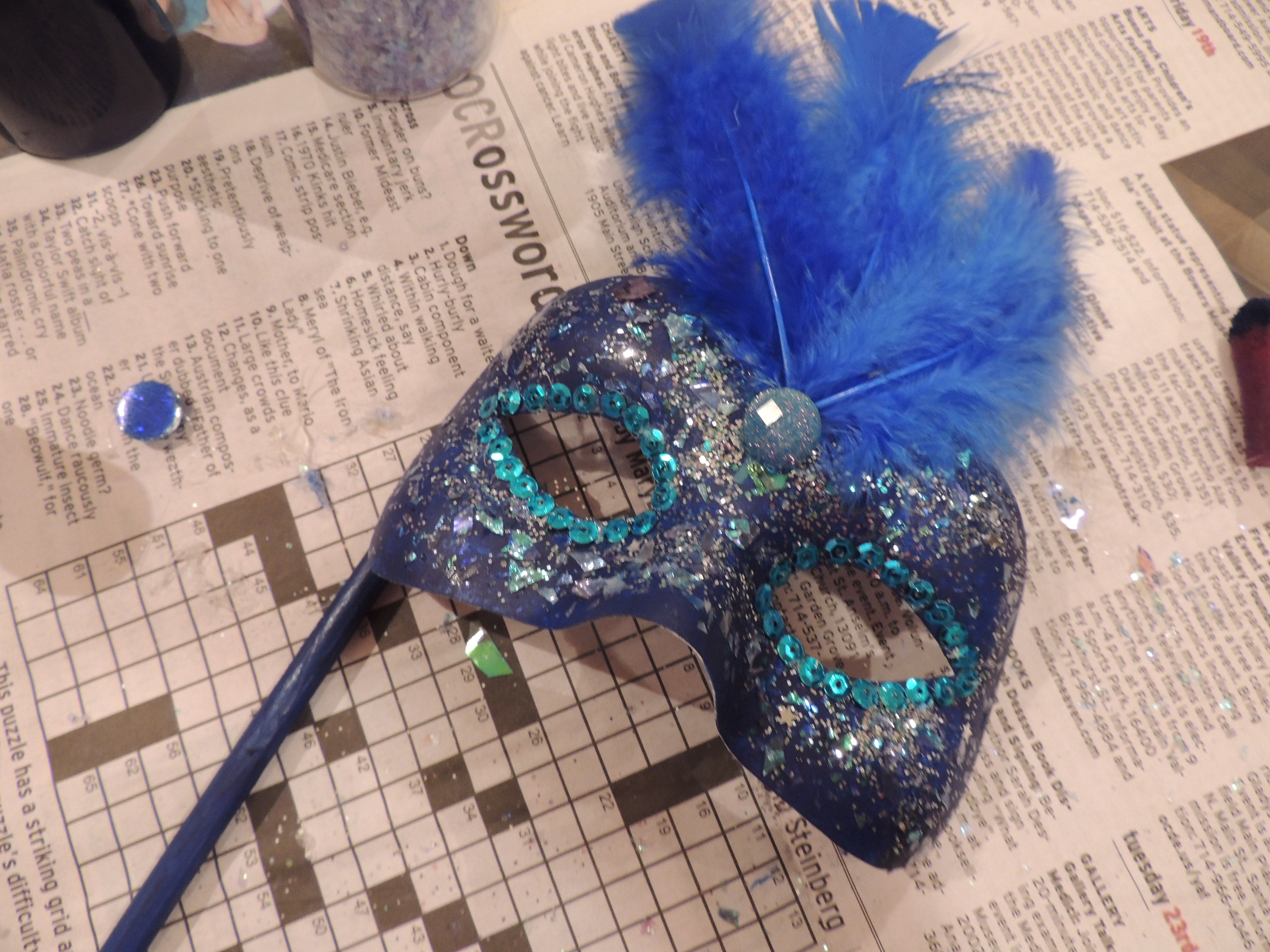 Best ideas about DIY Masquerade Mask . Save or Pin 301 Moved Permanently Now.