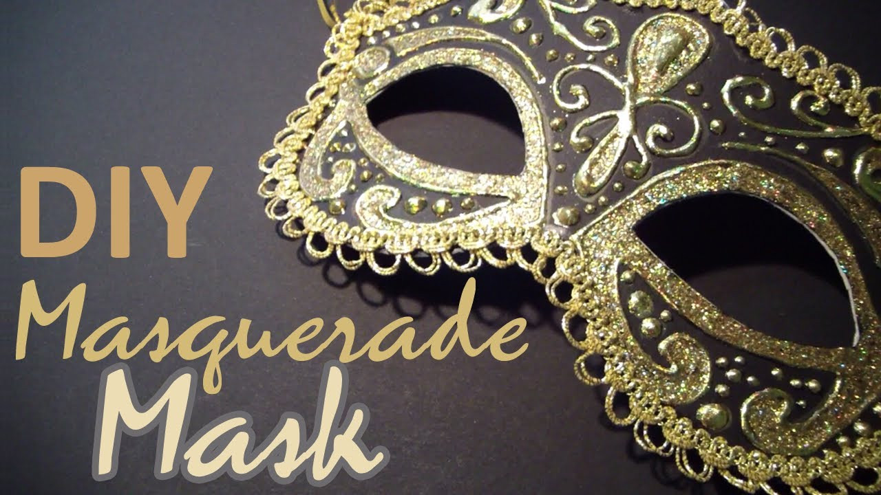 Best ideas about DIY Masquerade Mask . Save or Pin DIY Masquerade Mask from scratch Now.