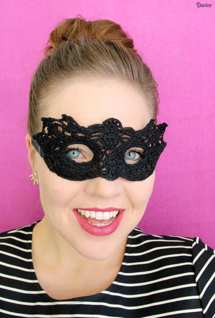Best ideas about DIY Masquerade Masks . Save or Pin DIY Masquerade Mask Crochet Pattern Darice Now.