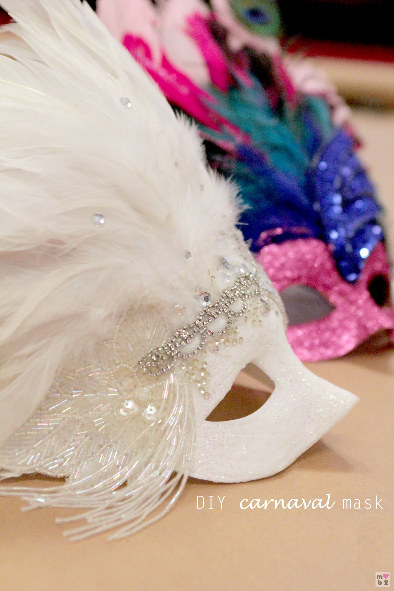 Best ideas about DIY Masquerade Masks . Save or Pin DIY Carnaval Mask Now.