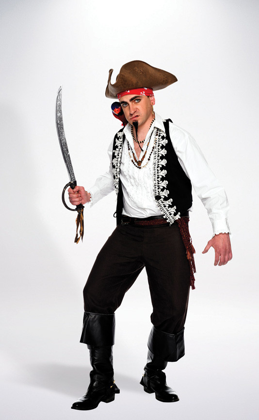 Best ideas about DIY Mens Halloween Costumes . Save or Pin DIY Pirate Costume Mens Halloween Costumes Now.