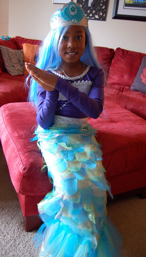 Best ideas about DIY Mermaid Costume For Kids . Save or Pin AWESOME DIY Mermaid Costume with tutorial Now.
