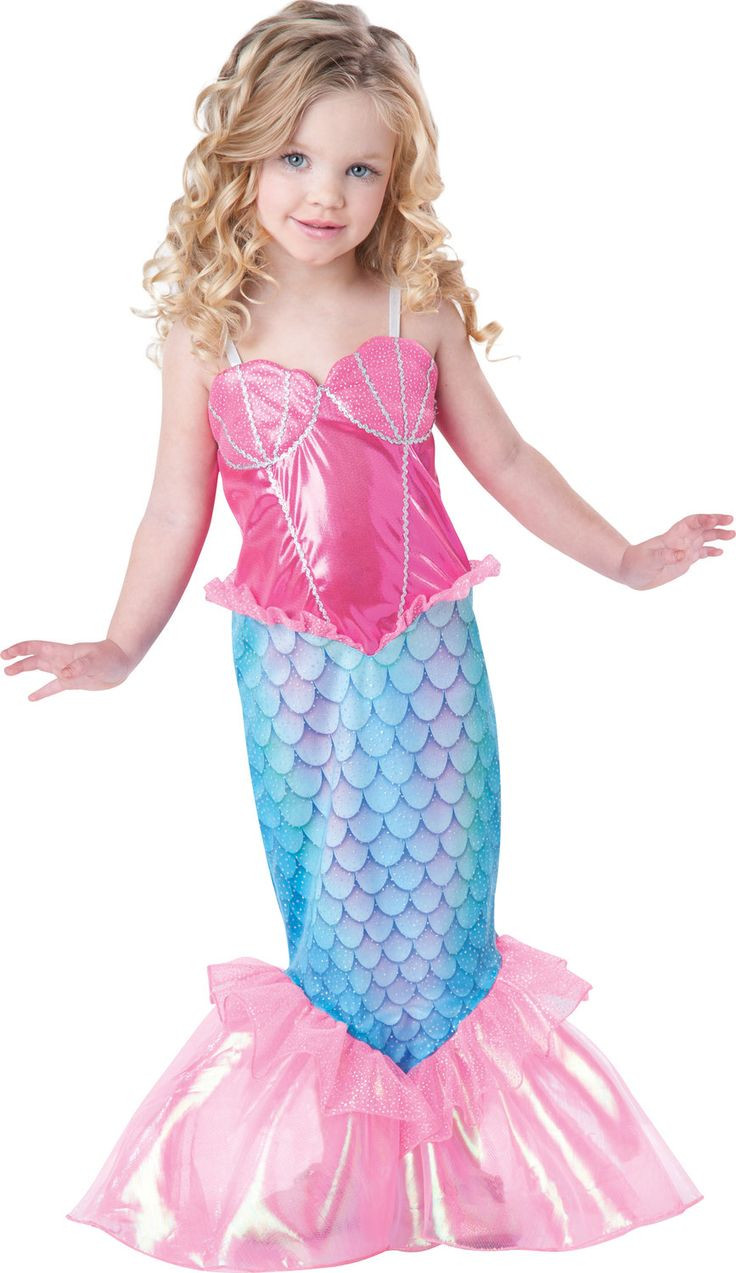 Best ideas about DIY Mermaid Costume For Kids . Save or Pin Pin by Charity Mohs on Toddler Now.