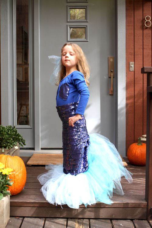 Best ideas about DIY Mermaid Costume For Kids . Save or Pin 25 best ideas about Homemade mermaid costumes on Now.