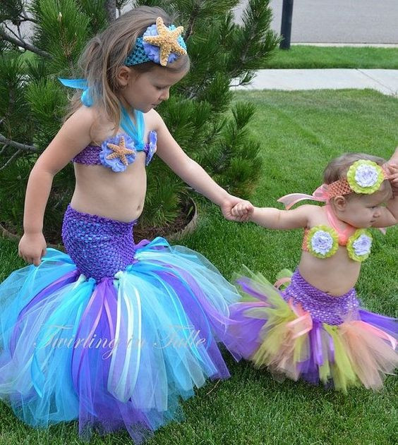 Best ideas about DIY Mermaid Costume For Kids . Save or Pin Adorable Infant Baby and Toddler Halloween Costumes to Now.