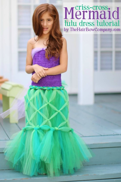 Best ideas about DIY Mermaid Costume For Kids . Save or Pin KIDS DIY Mermaid costume Really Awesome Costumes Now.