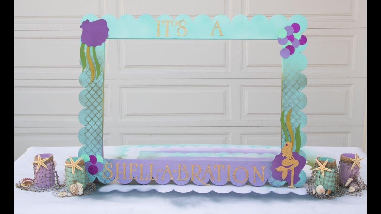 Best ideas about DIY Mermaid Room Decor . Save or Pin DIY Mermaid Theme Craft and Decor Mermaid Frame Idea Now.