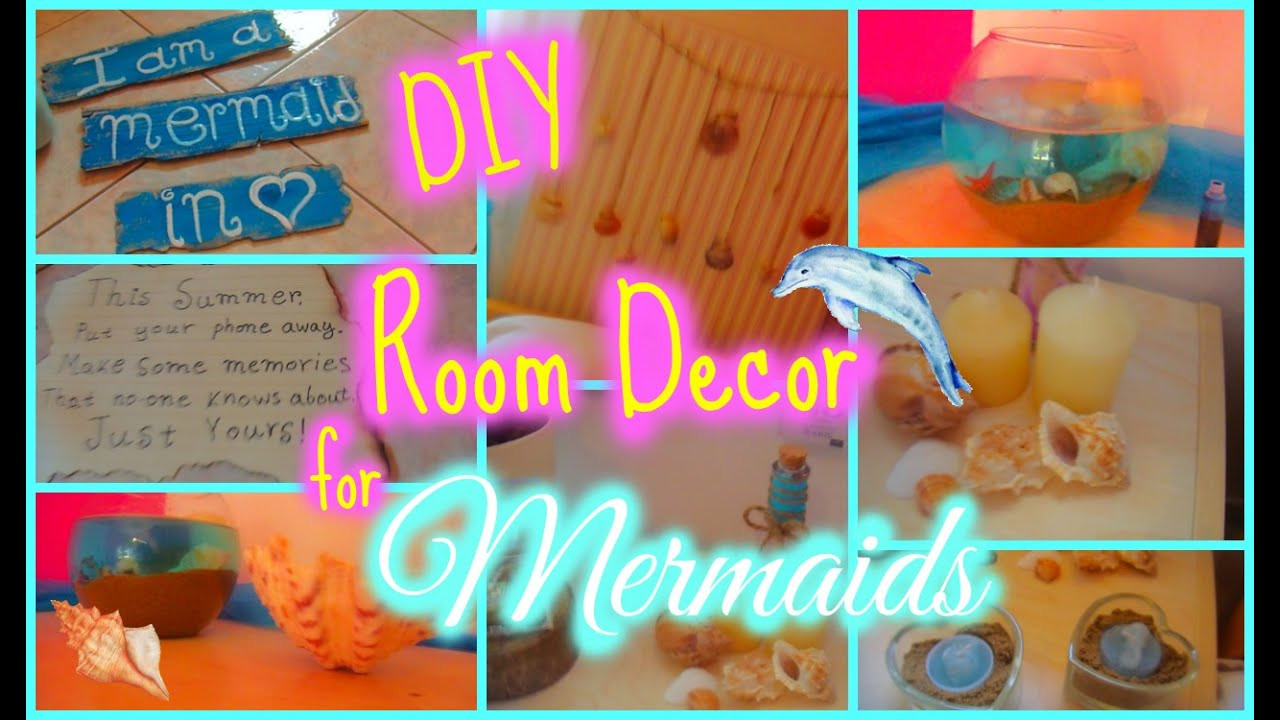 Best ideas about DIY Mermaid Room Decor . Save or Pin Make your room like a mermaid s DIY room decor Now.