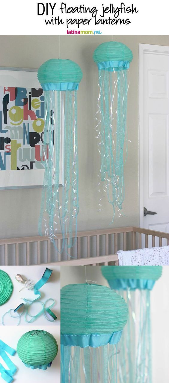 Best ideas about DIY Mermaid Room Decor . Save or Pin 20 Under The Sea Decorations For Your Little Mermaid s Now.