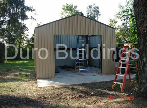Best ideas about DIY Metal Building Kits . Save or Pin DuroBEAM Steel 24x24x12 Metal Building Kits DiRECT Prefab Now.