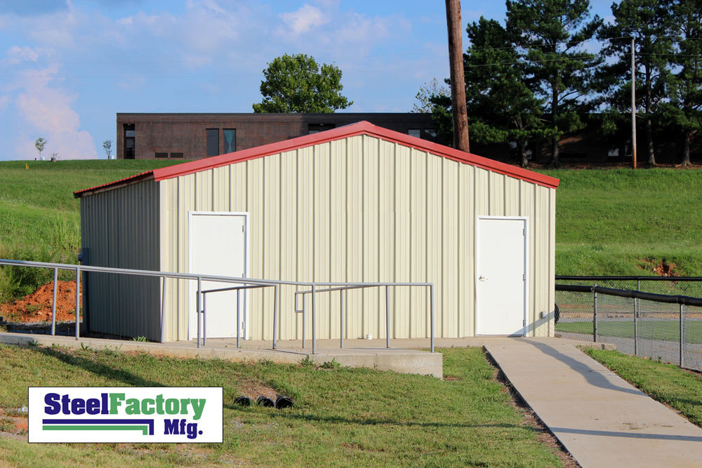 Best ideas about DIY Metal Building Kits . Save or Pin Steel Factory Mfg Prefab 24x30x10 Beam Frame Garage Now.