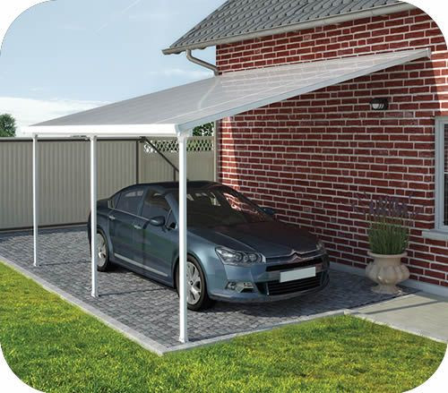 Best ideas about DIY Metal Carports Kits . Save or Pin Palram 13x20 Feria Attached Metal Carport Kit Now.