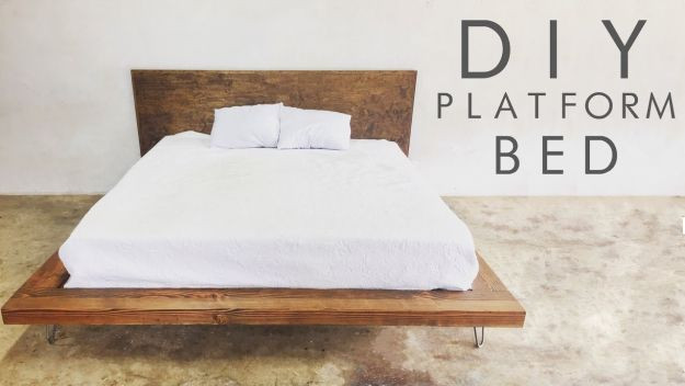 Best ideas about DIY Modern Platform Bed . Save or Pin 17 Easy To Build DIY Platform Beds Perfect For Any Home Now.