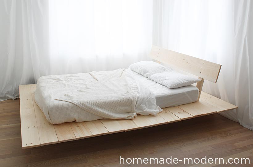 Best ideas about DIY Modern Platform Bed . Save or Pin HomeMade Modern EP89 Platform Bed Now.