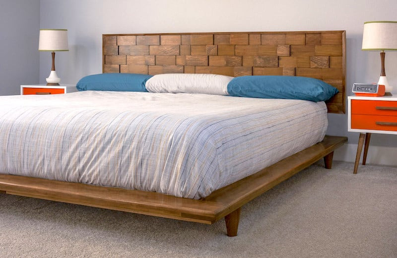 Best ideas about DIY Modern Platform Bed . Save or Pin Mid Century Modern DIY Wood Headboard DIY Candy Now.