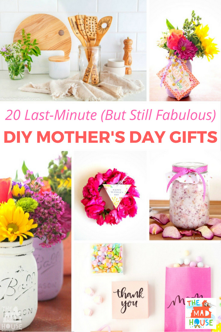 Best ideas about DIY Mother Day Gifts . Save or Pin 20 Last Minute But Still Fabulous DIY Mother s Day Gift Now.