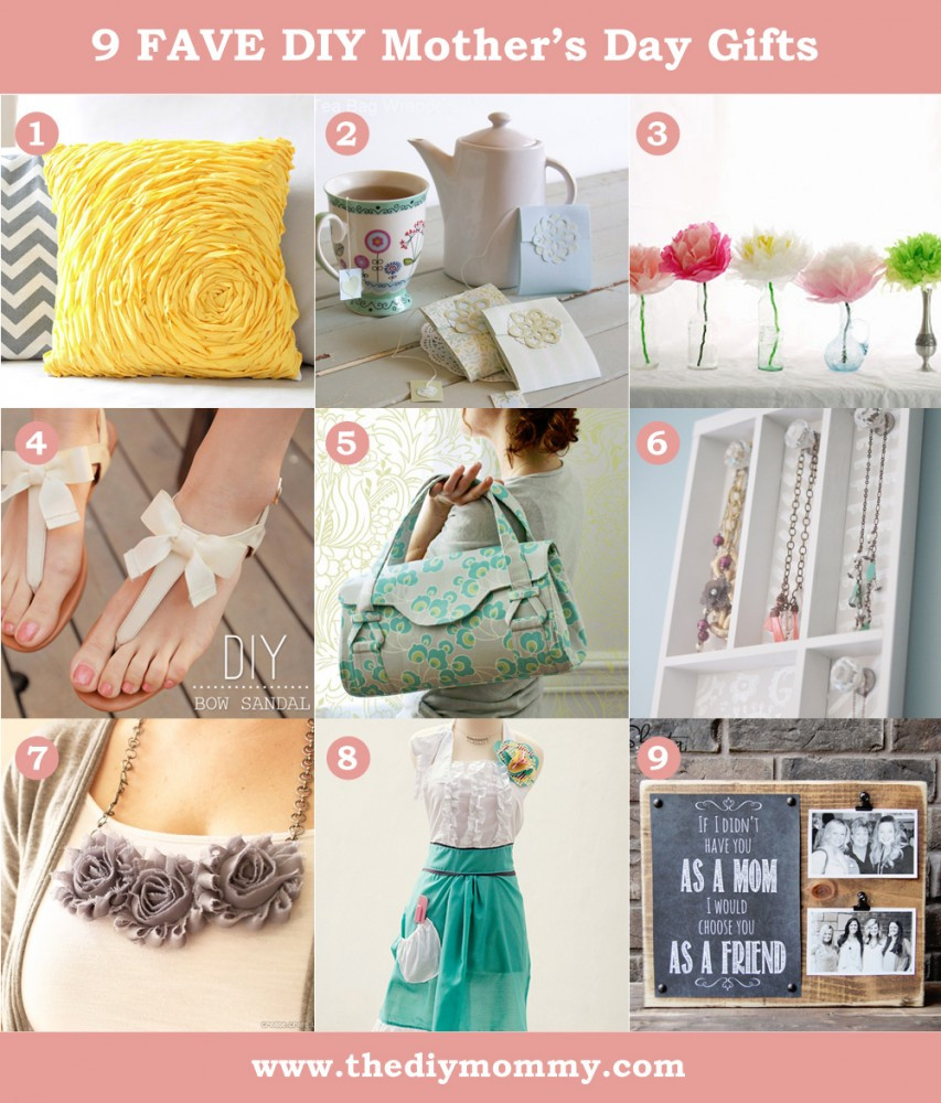 Best ideas about DIY Mother Day Gifts . Save or Pin DIY Mother s Day Gift Ideas to Sew or Craft Now.