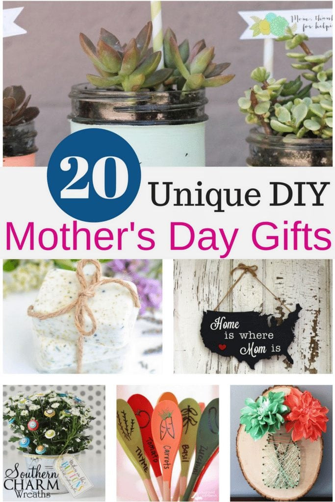 Best ideas about DIY Mother Day Gifts . Save or Pin 20 Unique DIY Mother s Day Gift Ideas She ll Treasure Now.