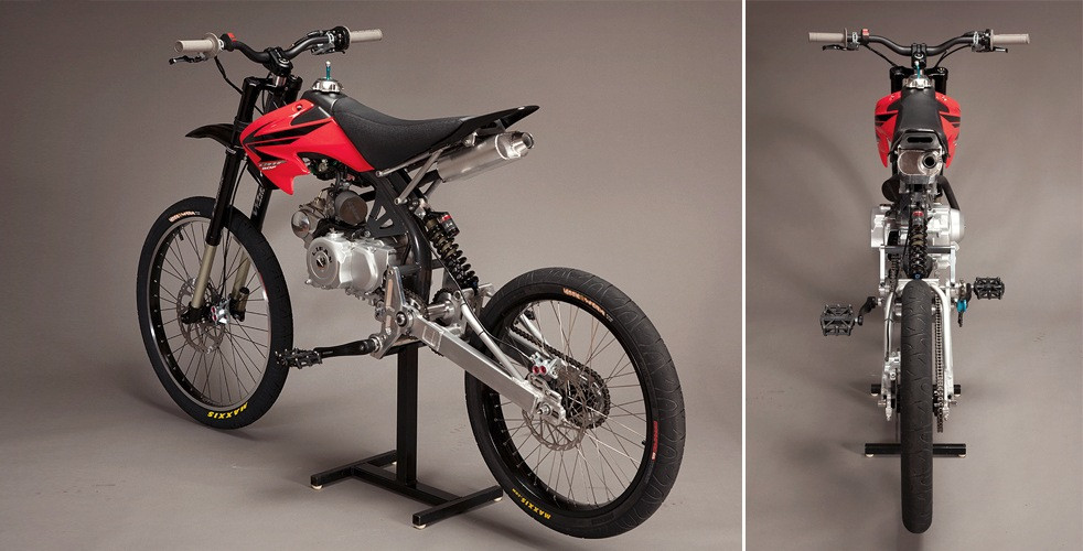 Best ideas about DIY Motorcycle Kit . Save or Pin DIY Moped Kit Motoped Now.