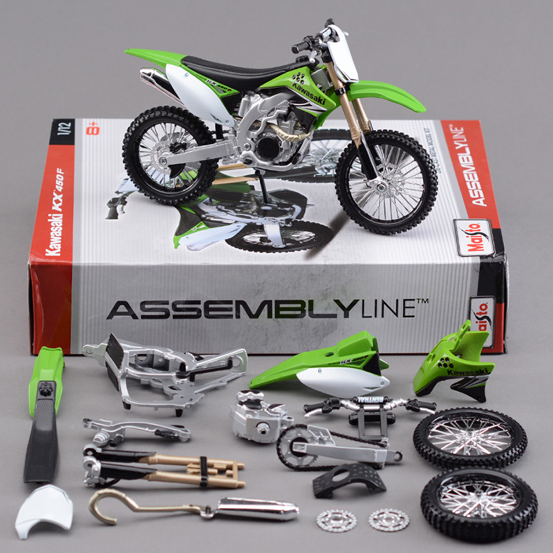 Best ideas about DIY Motorcycle Kit . Save or Pin Maisto KWSK KX450F f Road Motorcycle Model Kit 1 12 Now.