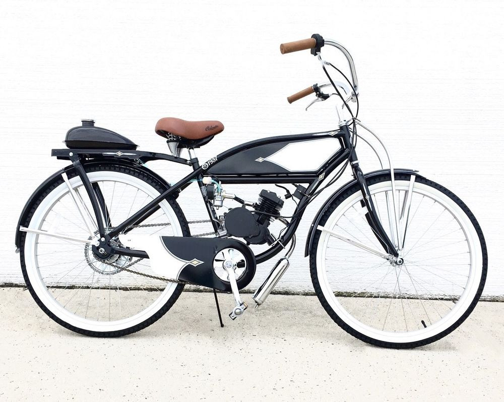 Best ideas about DIY Motorcycle Kit . Save or Pin Columbo Cruiser 66cc Engine w Retro Bike Motorized Now.