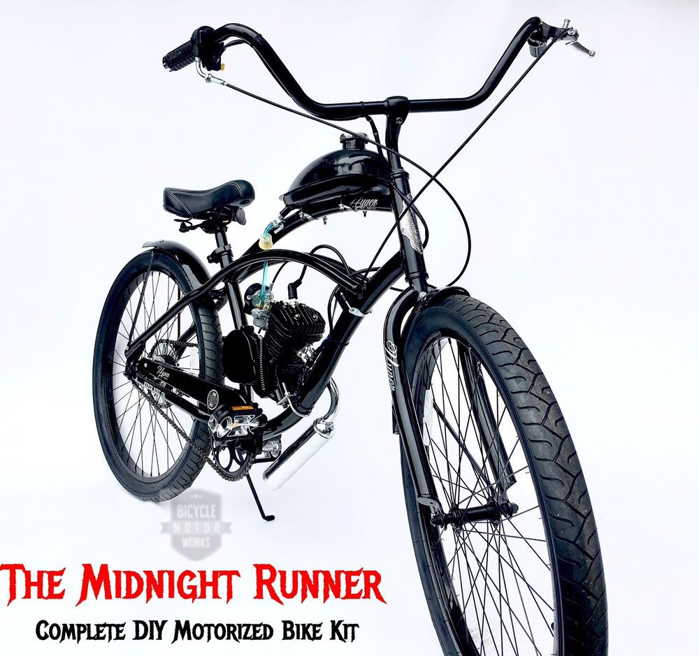 Best ideas about DIY Motorcycle Kit . Save or Pin Midnight Runner Motorized Bicycle Kit DIY and save Now.