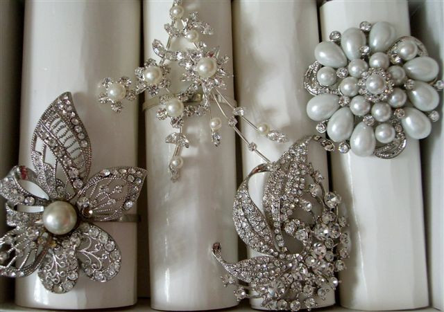 Best ideas about DIY Napkin Rings For Weddings . Save or Pin December 2011 Now.