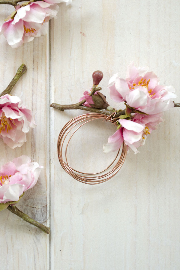 Best ideas about DIY Napkin Rings For Weddings . Save or Pin DIY Floral Napkin Rings for your summer wedding – The Now.
